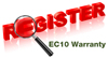 EasyClean10 Register